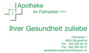 Apotheke im Fahracker